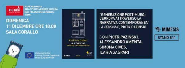 Pazinski a Più libri più liberi di Roma