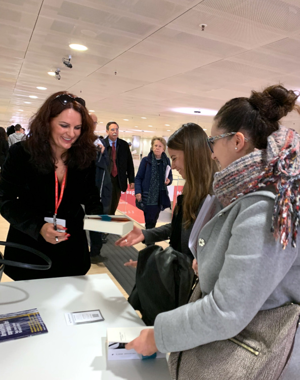 Magdalena Parys incontra i lettori a Più libri più liberi 2018