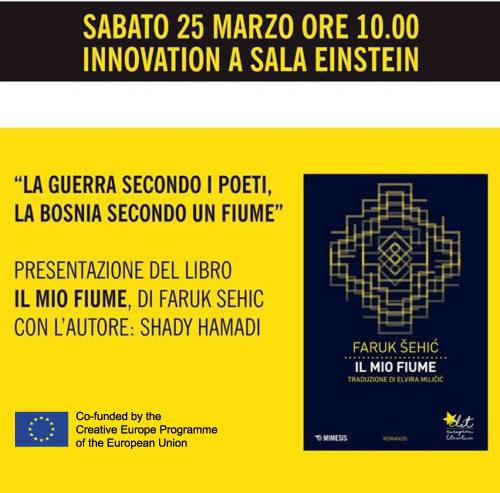 Invito | Faruk Šehićospite di Bookpride, Milano, 25 marzo 2017.