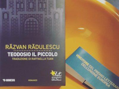 Salone del Libro di Torino: Răzvan Rădulescu presenta «Teodosio il piccolo»