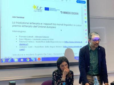 La traduzione letteraria e i rapporti tra mondi linguistici: la collana eLit e il premio letterario dell'Unione europea