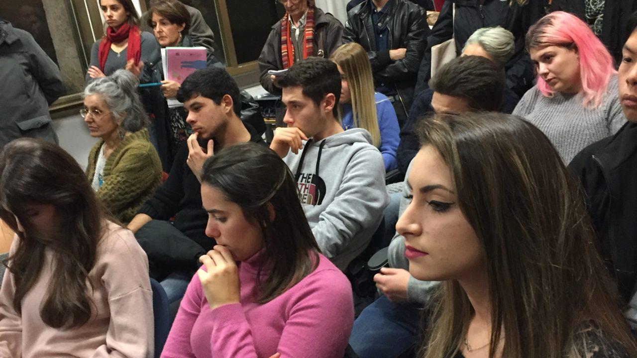 Pazinski il pubblico a Roma