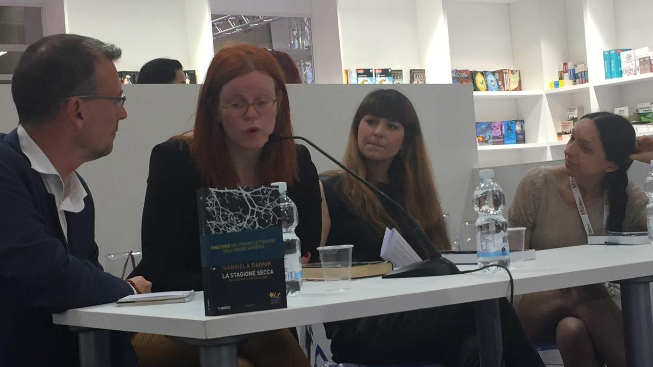 Gabriela Babnik al Salone del Libro di Torino