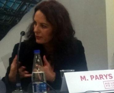 Magdalena Parys a Più libri più liberi 2018